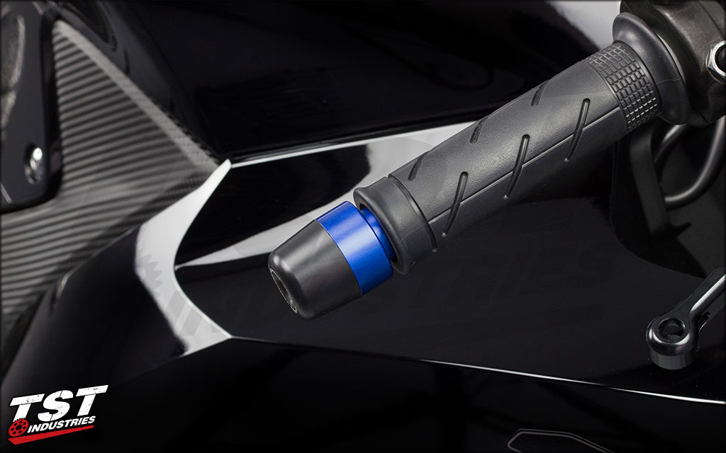 Bar ends provide an impact / sliding point that helps to protect your upper fairings and controls.