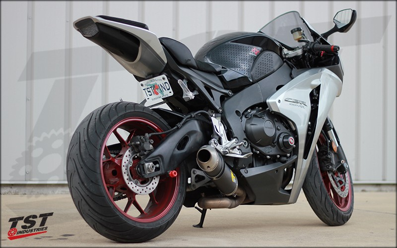 Honda CBR1000RR with TST Taillight and Fender Eliminator.