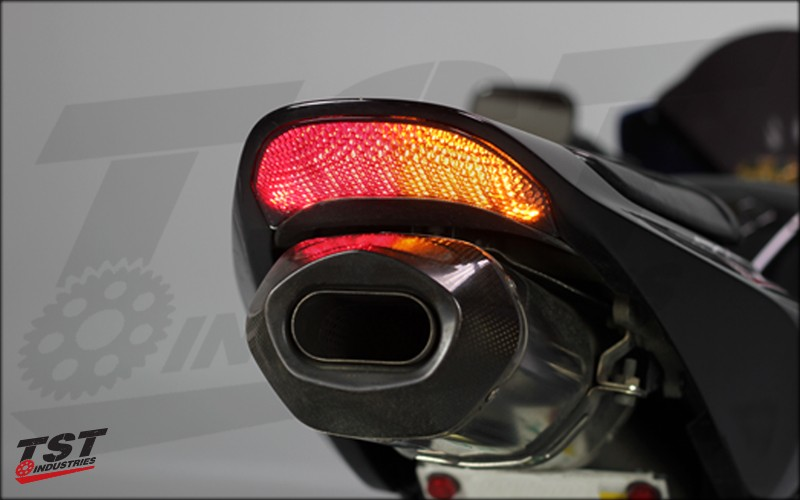 Honda Detailed CBR Taillight 1 integrated tail light 2003 2006 600rr 2004 2007 1000rr  at edmiracle.co