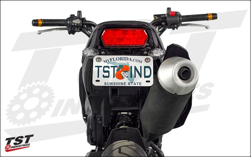 Clean up that tail section with the Grom Standard Fender Eliminator.