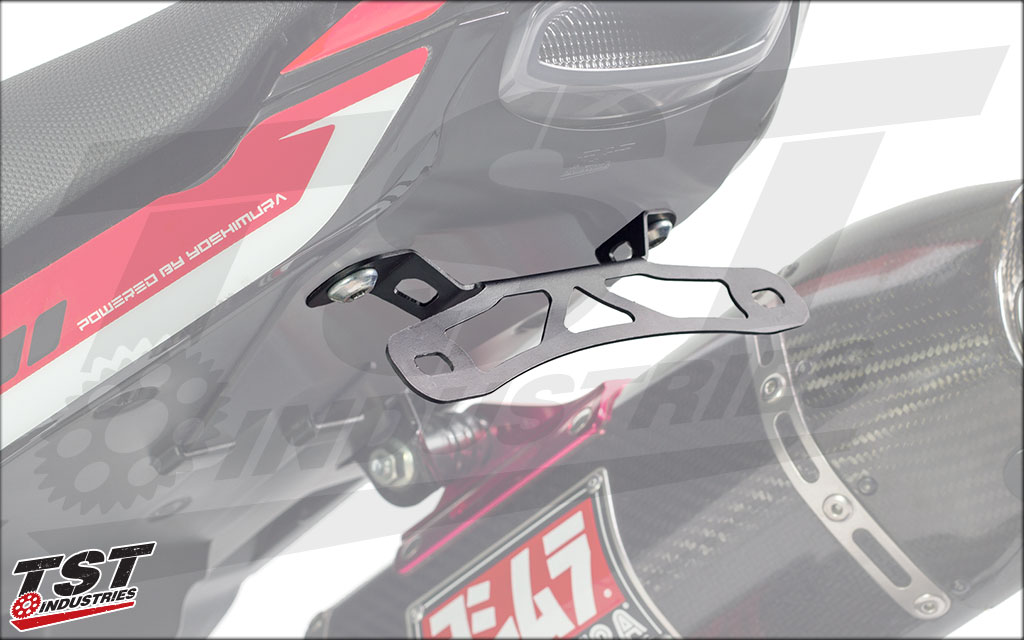 Mounting Bracket shown on our exclusive Integrated Taillight / Undertail (sold separately)