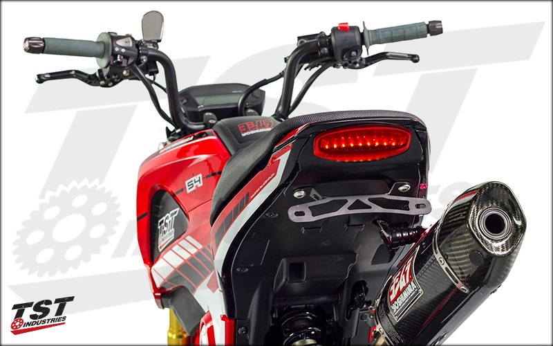 Honda Grom Fender Elimination System