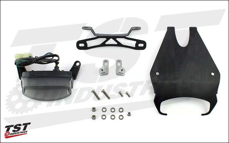 Components of Grom Undertail and Taillight System