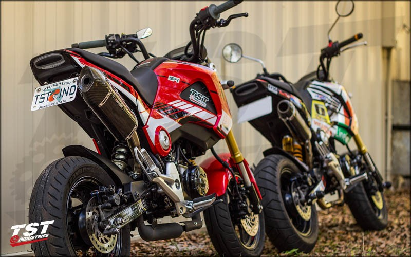 TST Industries Undertail and Tail Light on two Groms