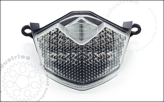 TST Industries LED Integrated Tail Light for Kawasaki Z1000 and Z750. (Clear lens shown)