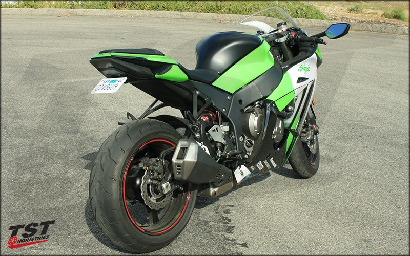 Kawasaki ZX10R TST Industries Fender Eliminator