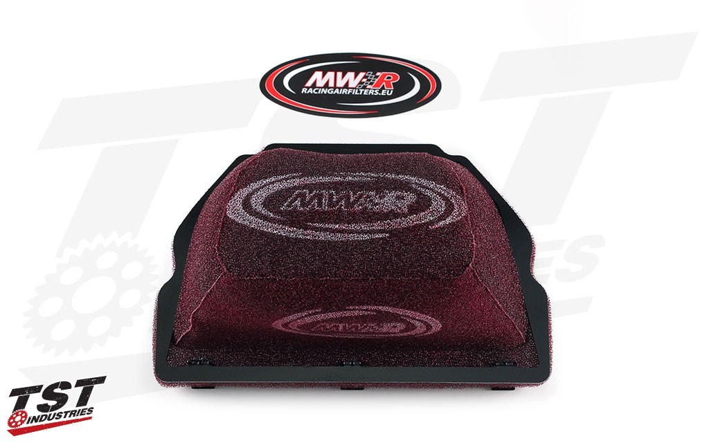 MWR WSKB Full Race Air Filter for the Yamaha YZF-R1 2015+ and FZ-10 / MT-10 2016+.