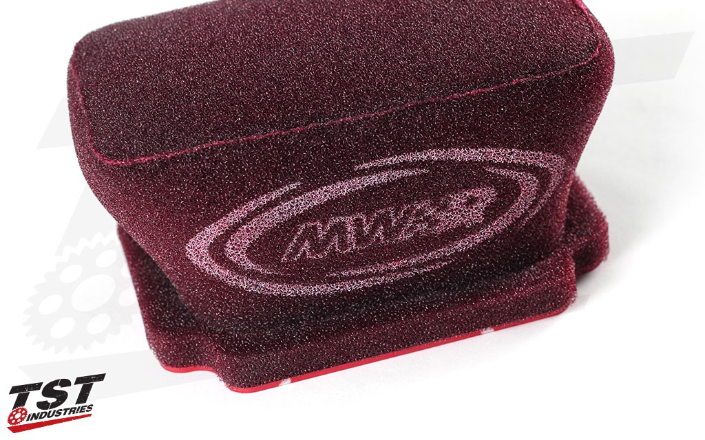Each MWR Performance Air Filter comes pre-oiled and ready to install on your Yamaha FZ-07 / MT-07.