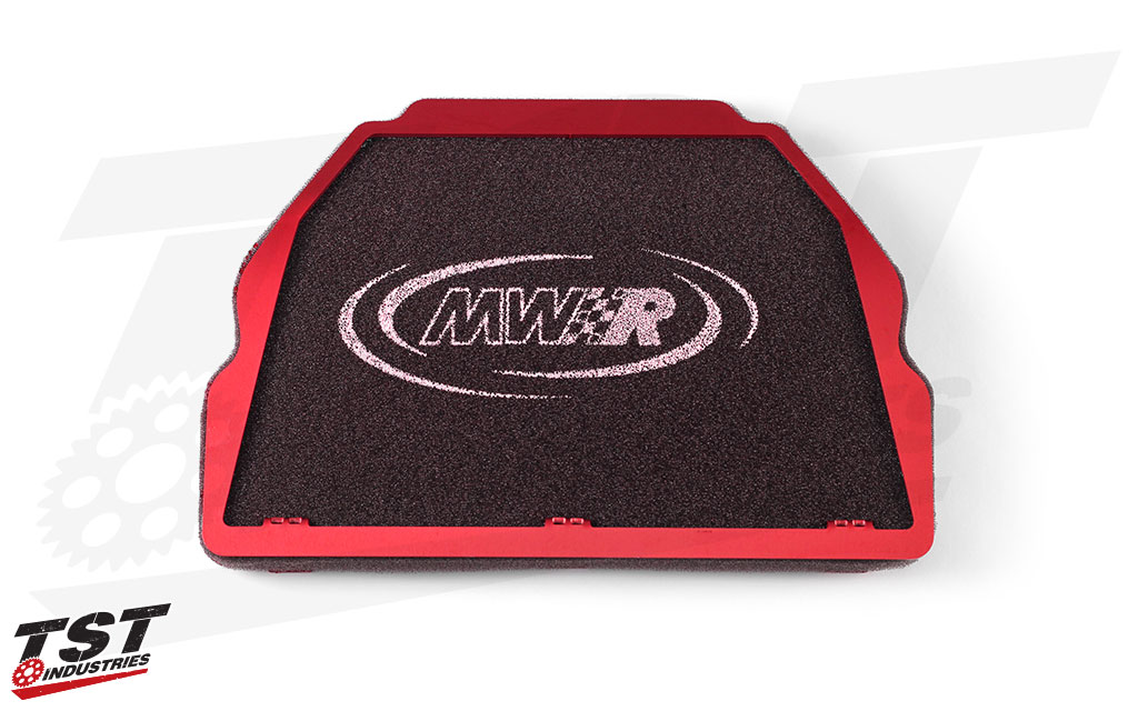 Up your Yamaha R1 engine performance on the street or the track with the MWR Performance Air Filter.