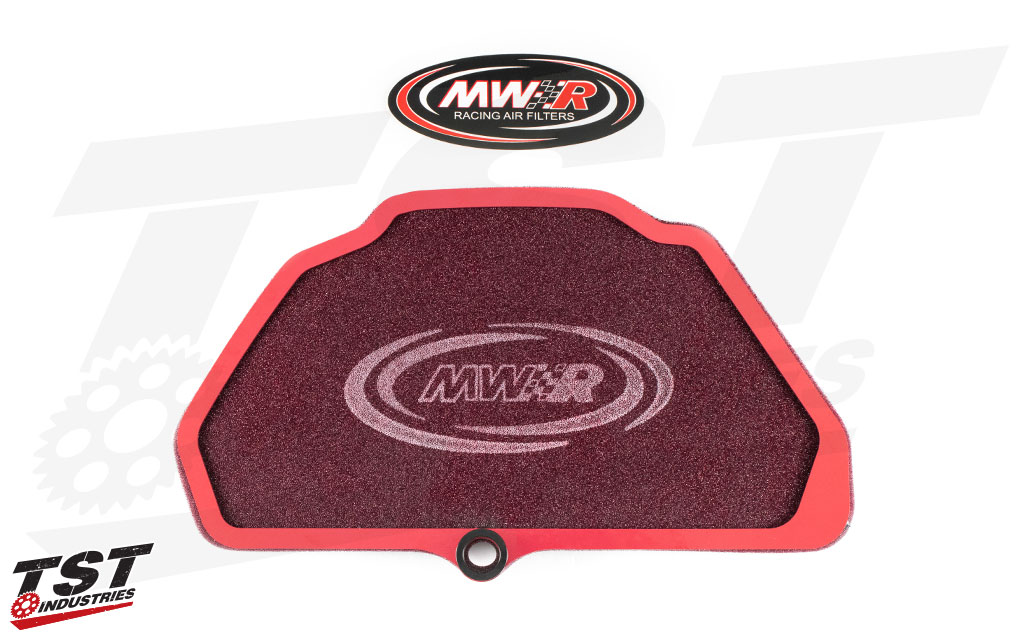 What's included in the MWR Performance Air Filter for the Kawasaki ZX-6R / 636 2009+.