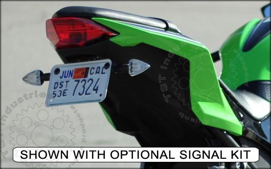 Shown with Pod Signal Kit - Ninja 300 Fender Eliminator