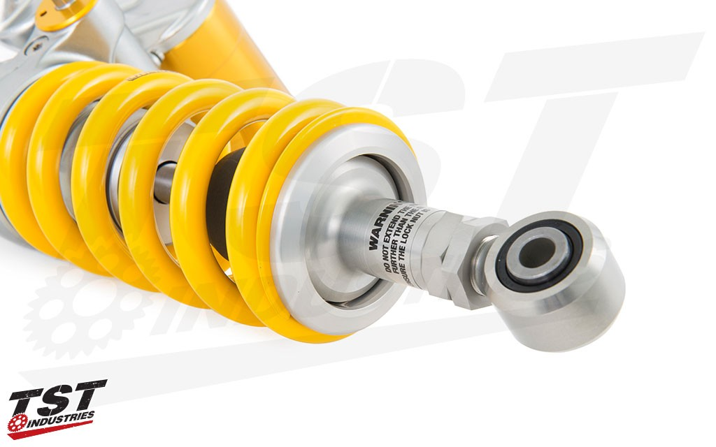 Improve your R1 or FZ-10 / MT-10 with the new TTX GP Rear Shock from Ohlins.