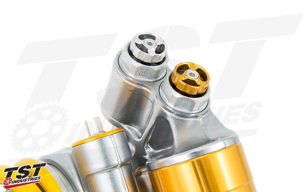 Improve your Yamaha R6 with the new TTX GP Rear Shock from Ohlins.