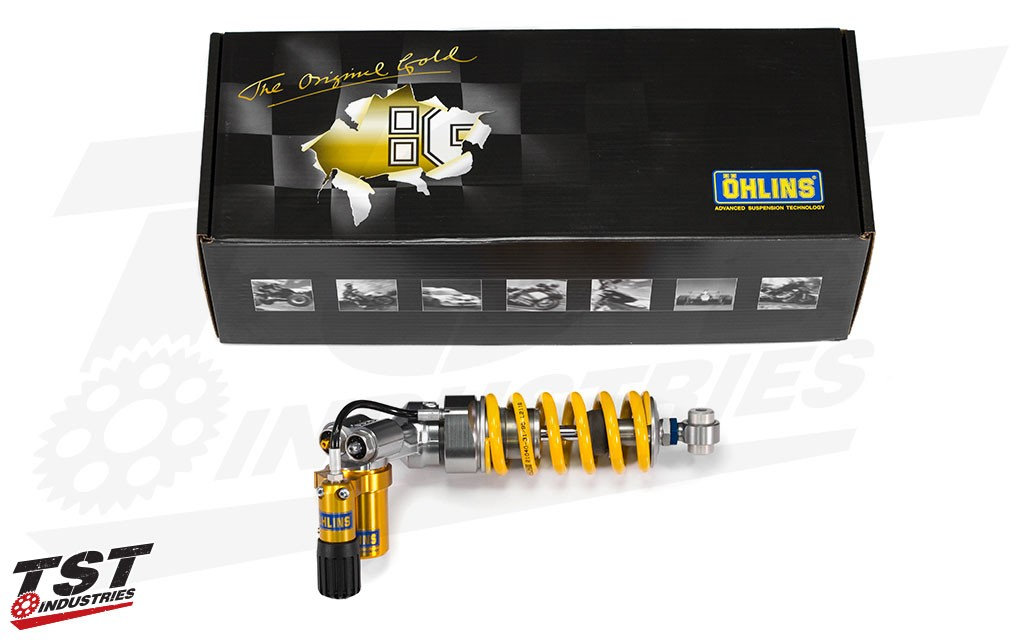 Ohlins TTX GP Rear Shock for the 2007-2017 Honda CBR600RR. (Previous model shown)