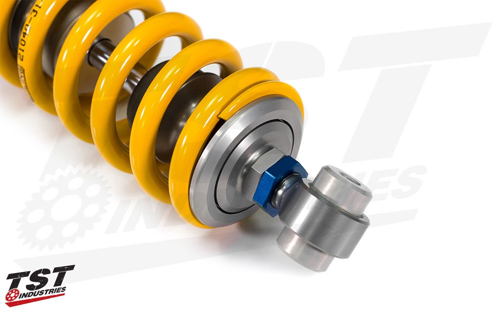Ohlins proven and durable design has zero risk of cavitation.  (Previous model shown)