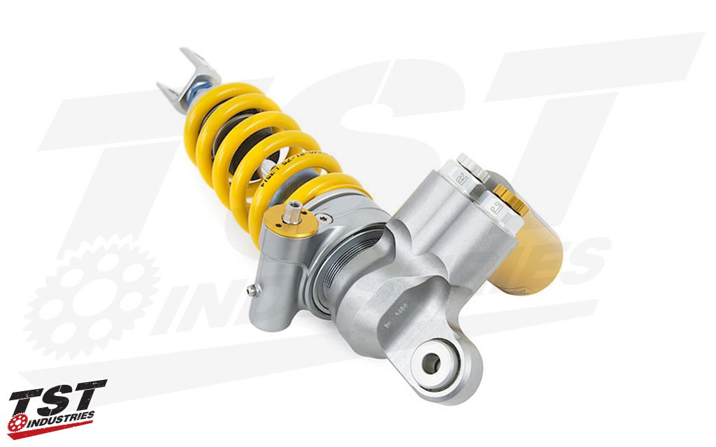 Improve your ZX10R with the new TTX GP Rear Shock from Ohlins.
