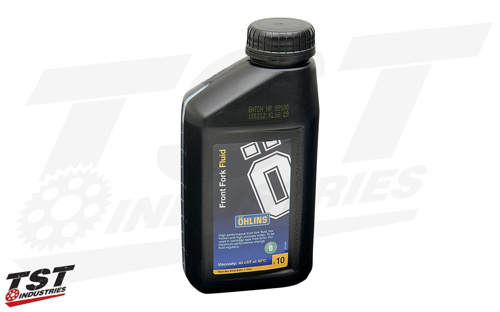 Ohlins Road & Track Fork Oil - 1L Bottle.