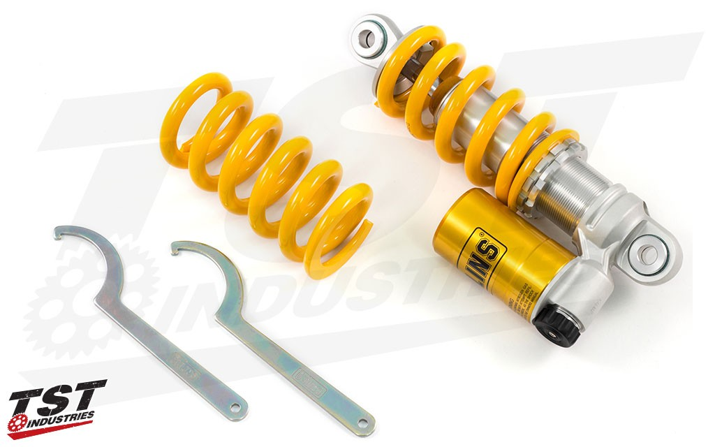 What's included in the KA 610 Ohlins kit.