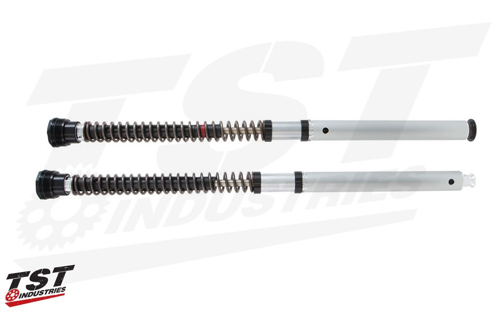 Upgrade your Yamaha with better suspension from the experts at Ohlins. (shown with optional springs)