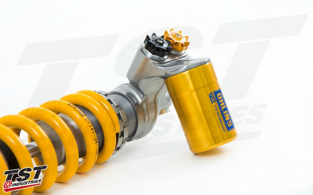 Ohlins durable and proven design has zero risk of cavitation.