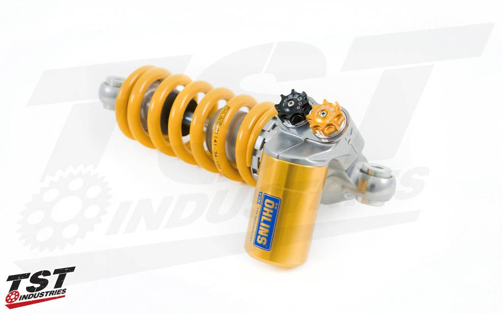 Ohlins TTX RT Rear Shock for the 2012-2014 BMW S1000RR.