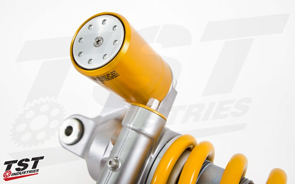 Ohlins proven and durable design has zero risk of cavitation.