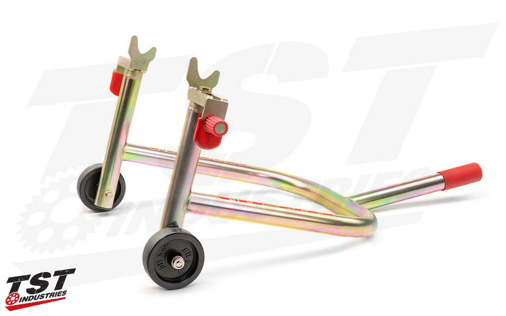 Pit Bull SS Rear Motorcycle Stand - standard non-removable handle shown.