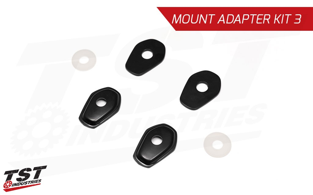 Mount Kit 3 is typically used on Suzuki DRZ motorcycles.