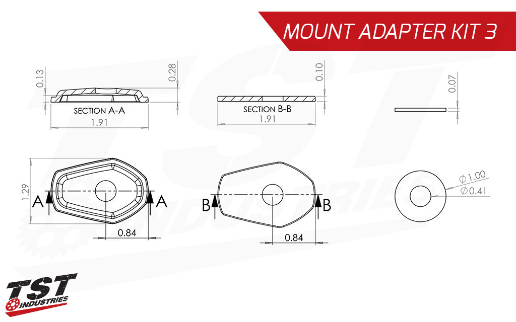 Your bike not on our verified Application list? Check the adapter plate measurements and see if it will work for you.