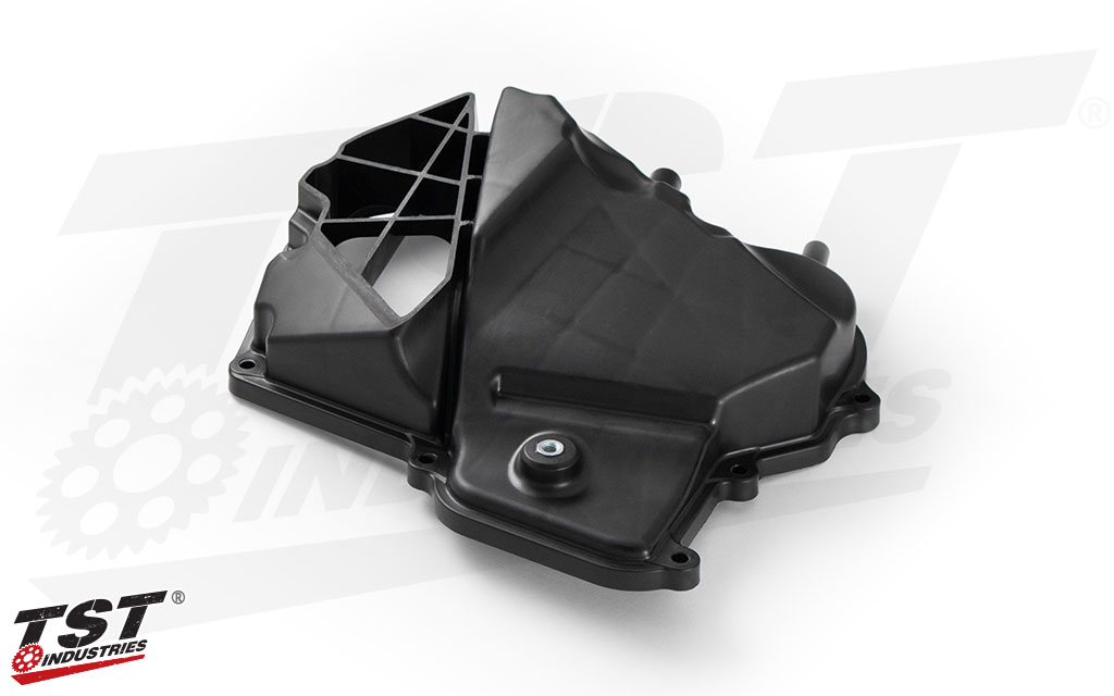TST WORX Right Airbox Cover for the 2015+ Yamaha R3.