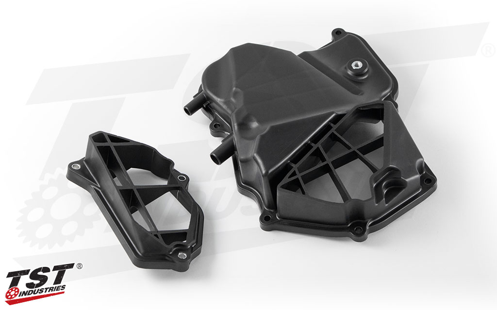 TST WORX Airbox Covers for Yamaha YZF-R3 2015+ - What's Included