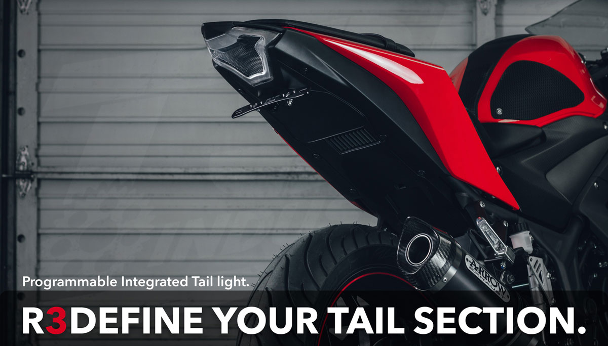 R3DEFINE YOUR TAIL SECTION