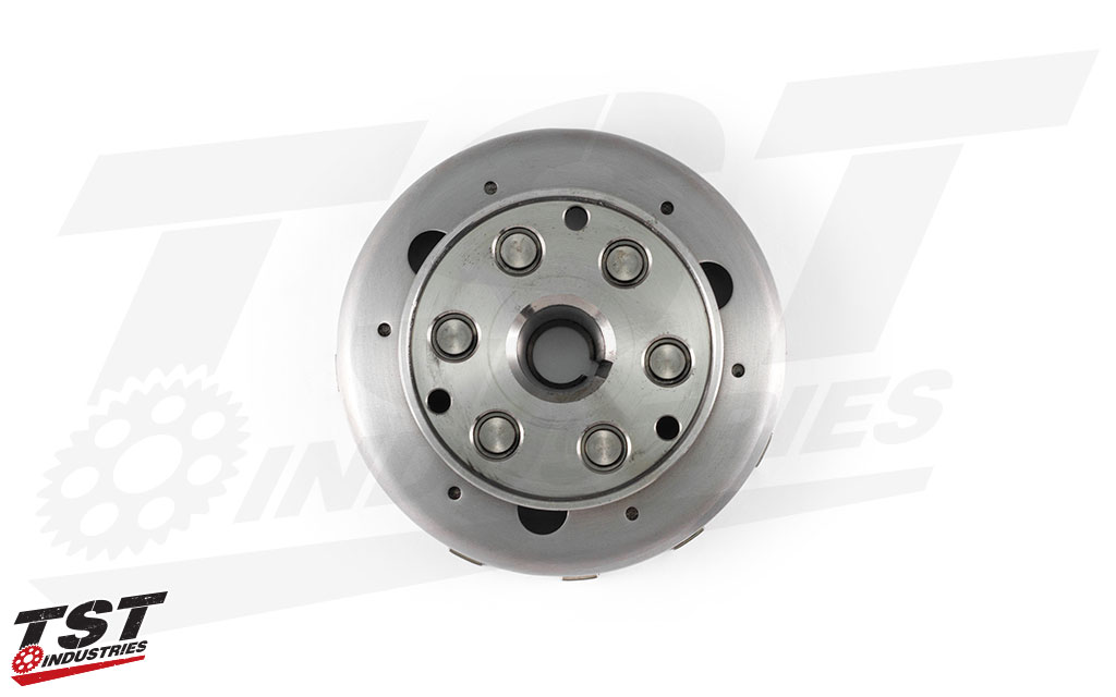 TST Lightened Flywheel for the Yamaha YZF-R3 2015+.