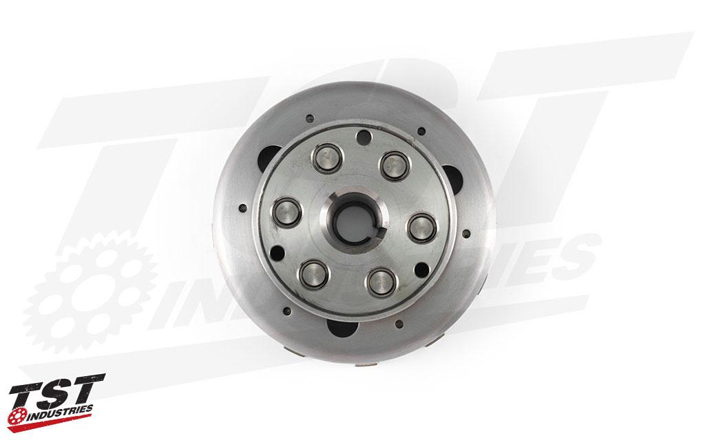 TST Lightened Flywheel for the Yamaha YZF-R3 2015+.