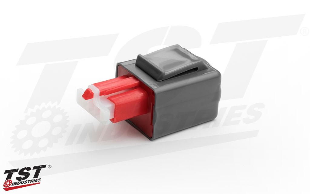 TST Industries Gen 2-I LED Flasher Relay for 2003-2006 Honda CBR600RR.