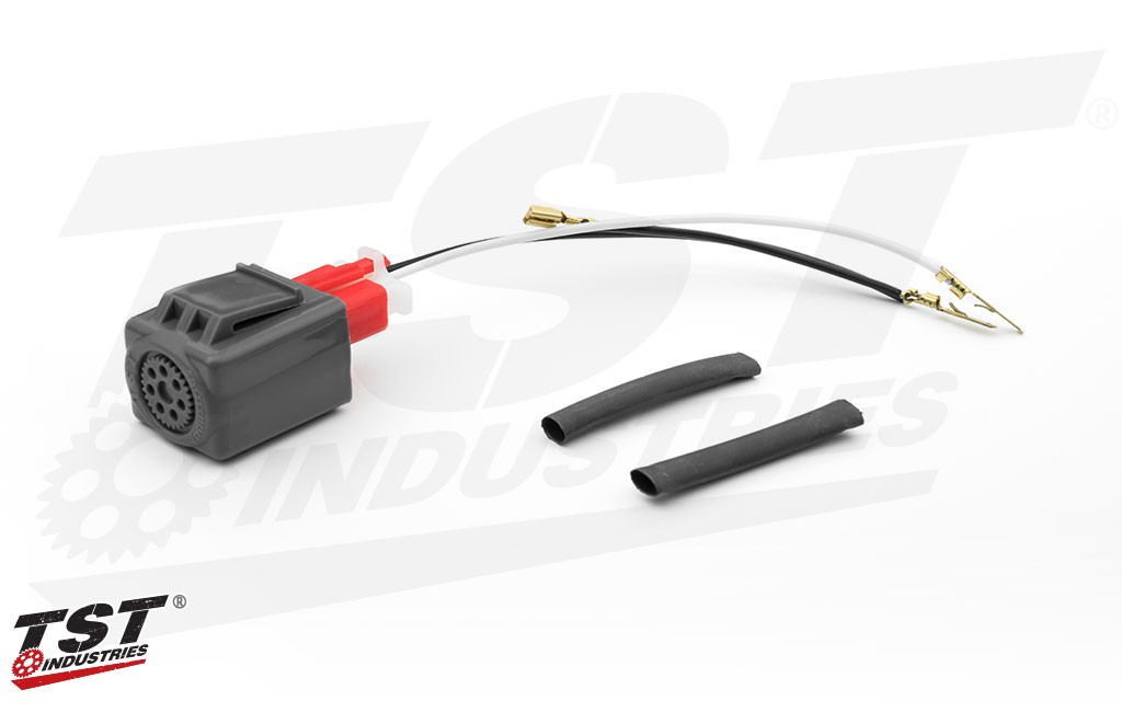 TST LED Flasher Relay for Honda CBR300R and CBR250R.