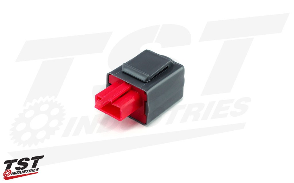 TST Industries LED Flasher relay prevents hyperflash.