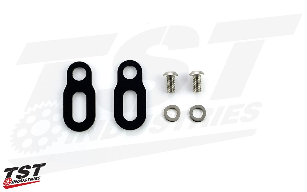 TST Pod Turn Signal Mounting Kit for Honda CBR600RR and CBR1000RR.