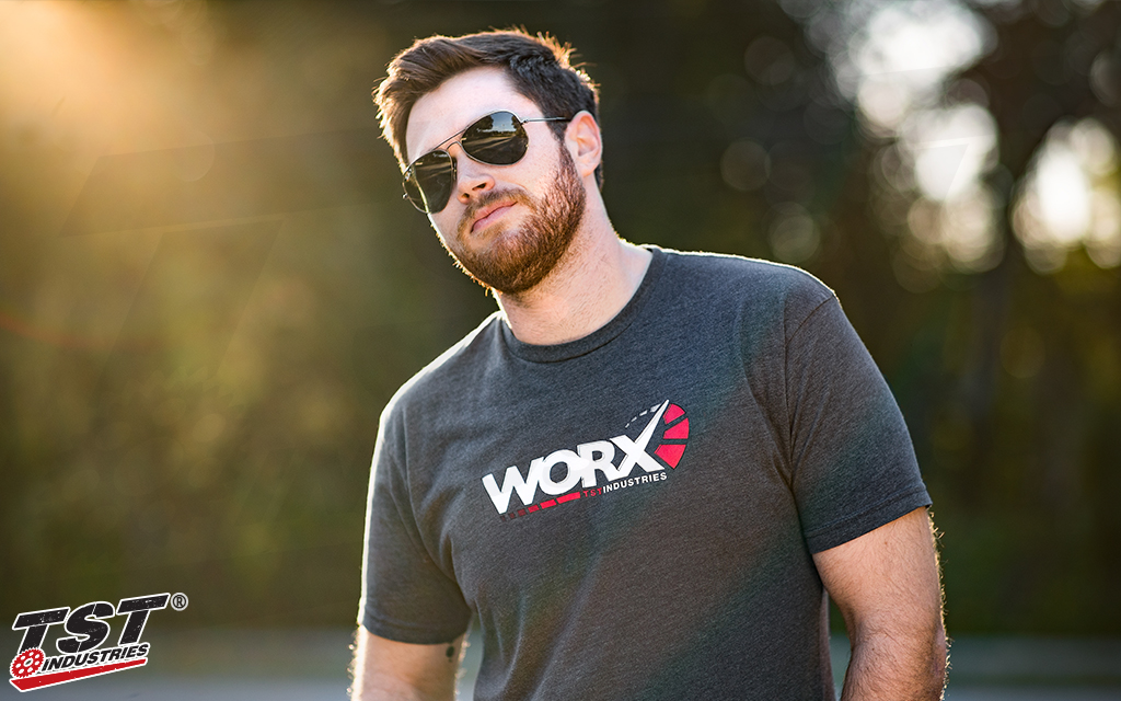 Be cool like Bryan...get yourself a TST WORX T-Shirt.