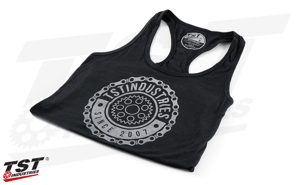 Super soft Next Level racerback tank.