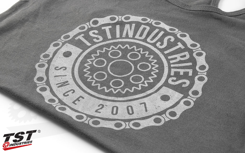 Grey TST Industries Emblem Women's Tank Top.