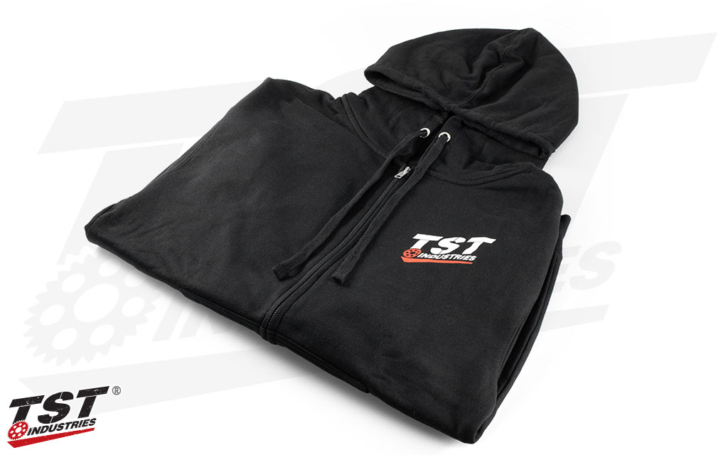 Stay fresh this winter with your very own TST Industries Zip-Up Hoodie.