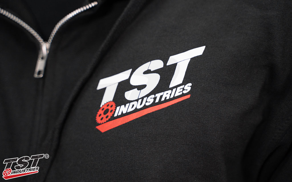 Show off your TST pride while staying warm.