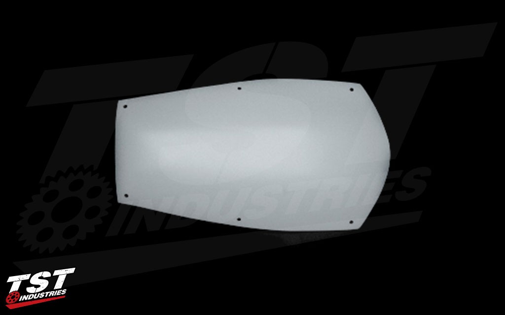 Replacement draftshield for the CBR1000RR.
