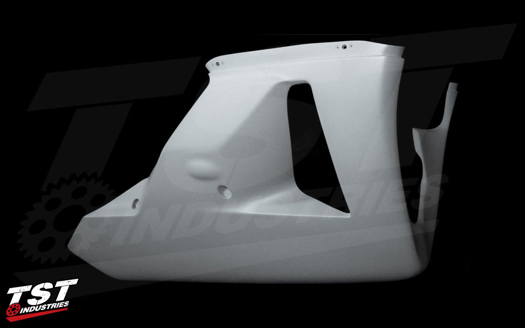 "Every Sharkskinz fairing is backed by a ""No Spider Web Cracking"" guarentee."