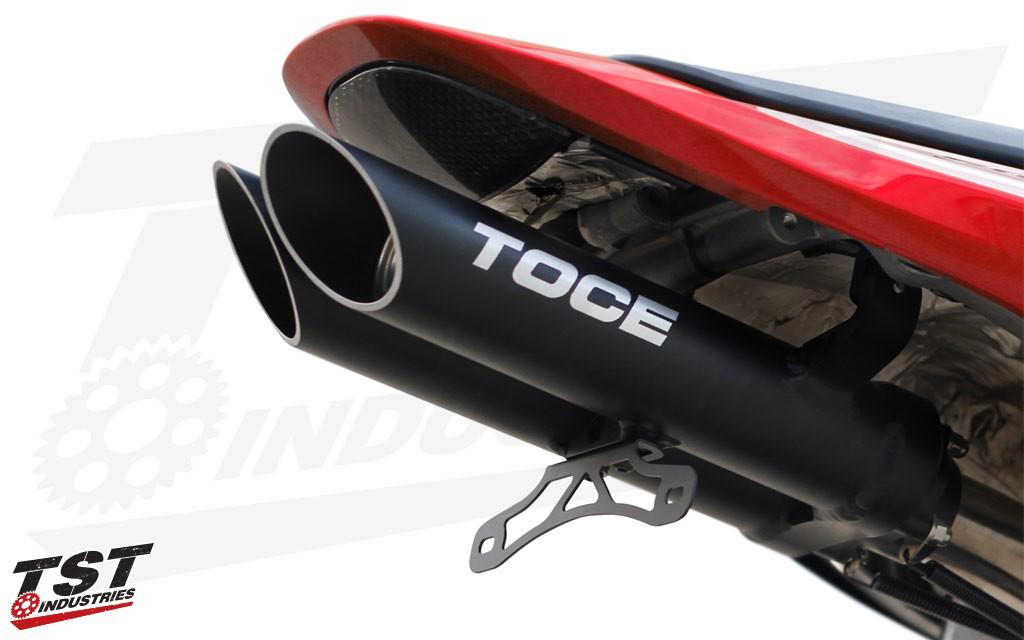 Toce T Slash Exhaust Honda Cbr600rr 2007 2012