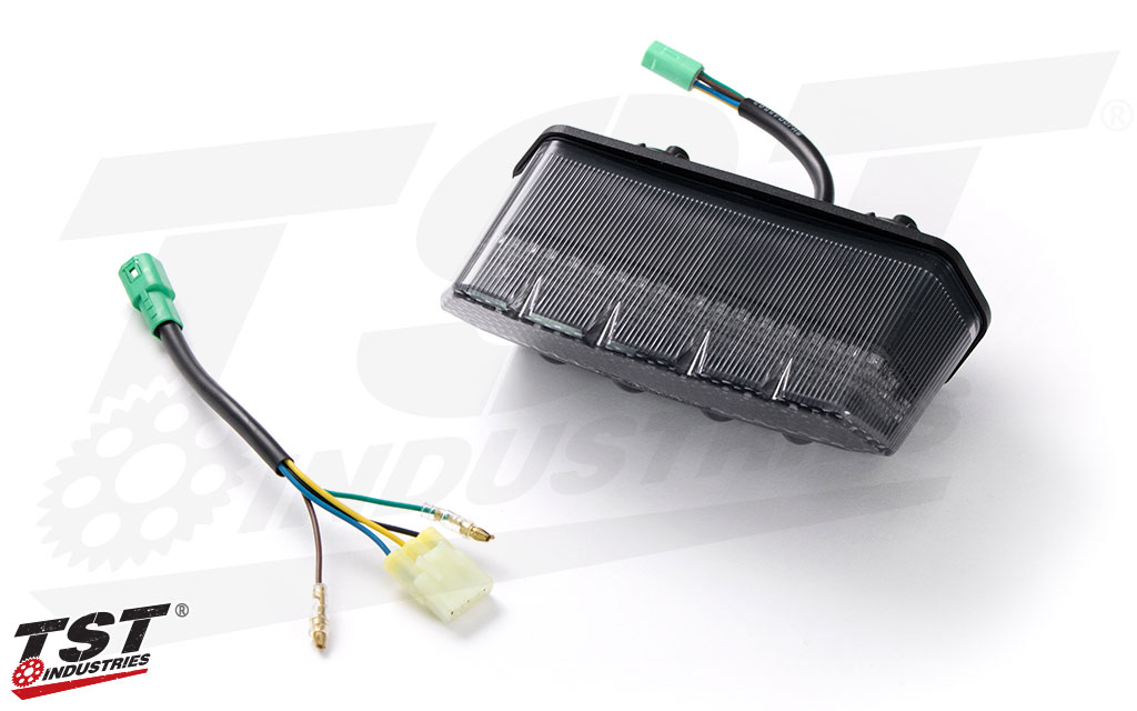 Includes a plug-and-play wiring harness for simple and easy installation.