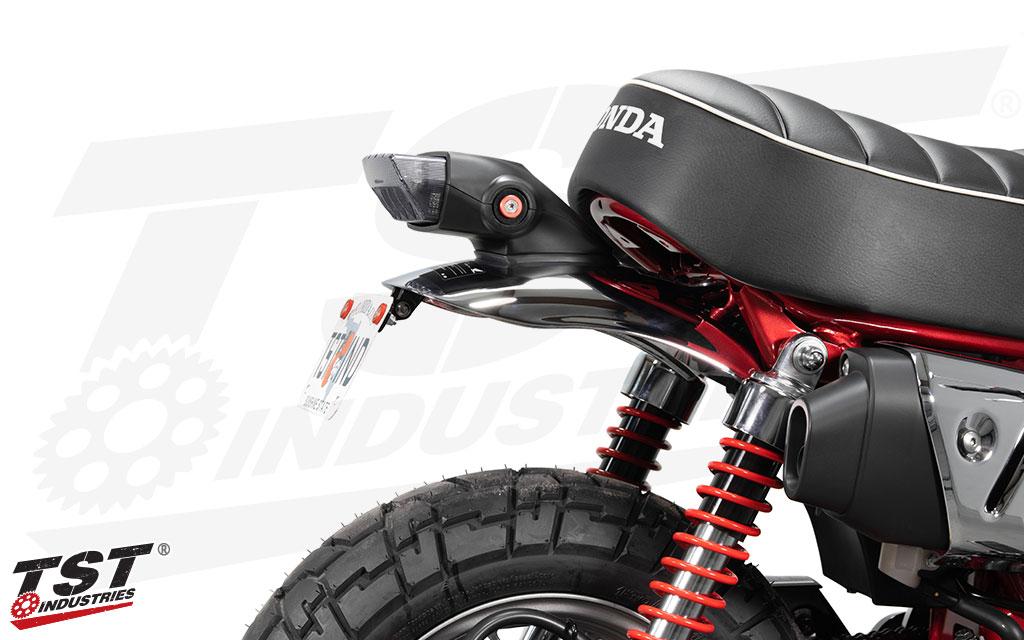 Trim down the bulk on the back of your Honda Monkey.