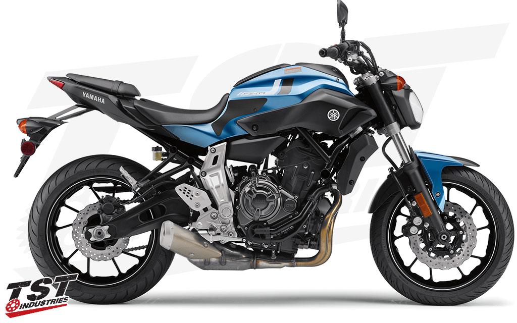 Schutz Tankdeckel Harz 3D Yamaha MT-07 2018-2019 GP-591 Tech Black