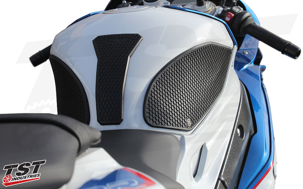TechSpec Snake Skin material on the BMW S1000RR.